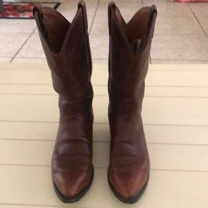 Men's western boots by DanPost in leather,size 9.5